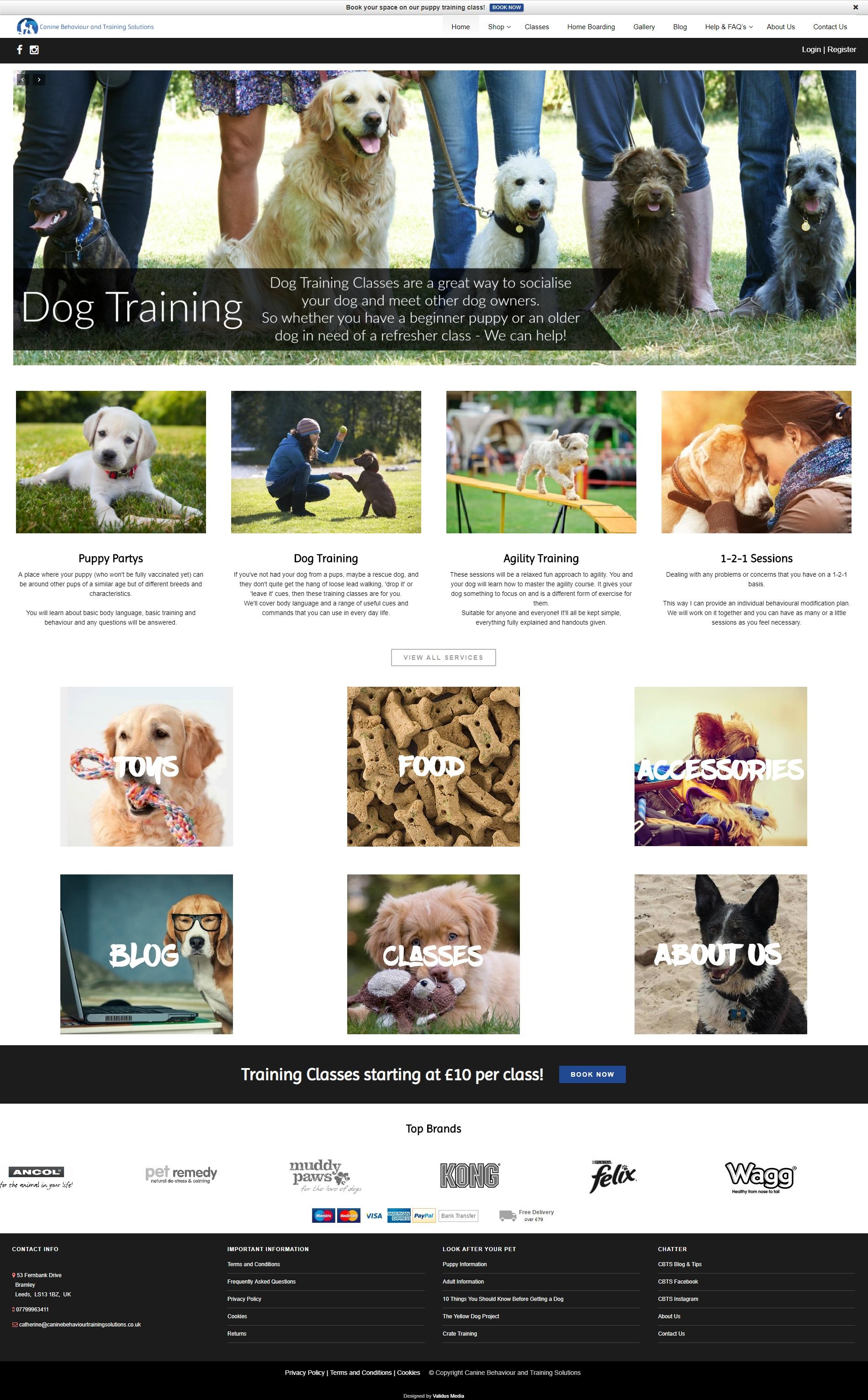 Canine Behaviour and Training Solutionsdotcom